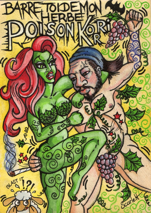 Poison Ivy VS Poison Korri